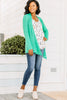 Undeniable Kelly Green Classic Cardigan