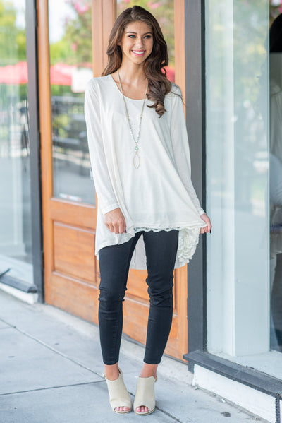 The Weekend Tunic, Natural