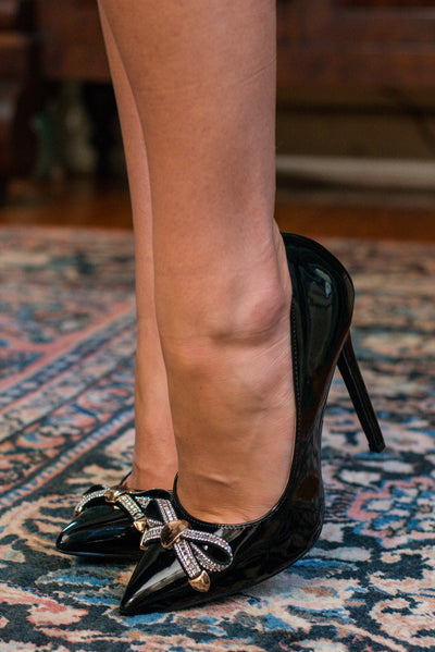 Elegantly Designed Heels, Black