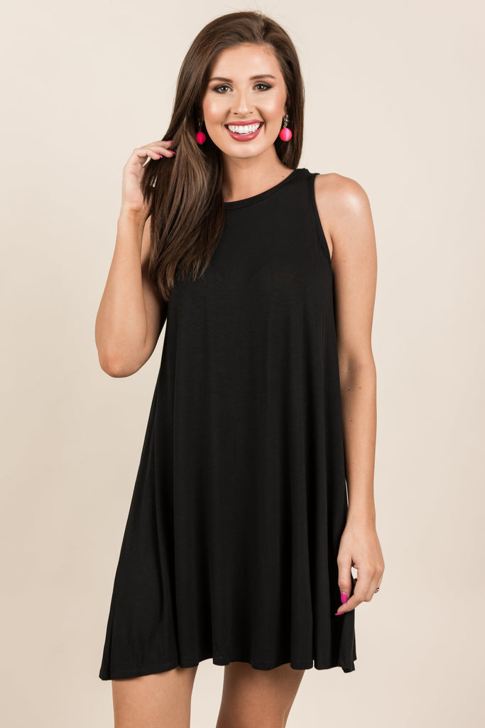 Simple Gifts Dress, Black