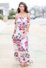 Record Beauty Maxi Dress, Ivory