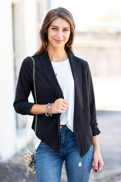 Work It Blazer, Black