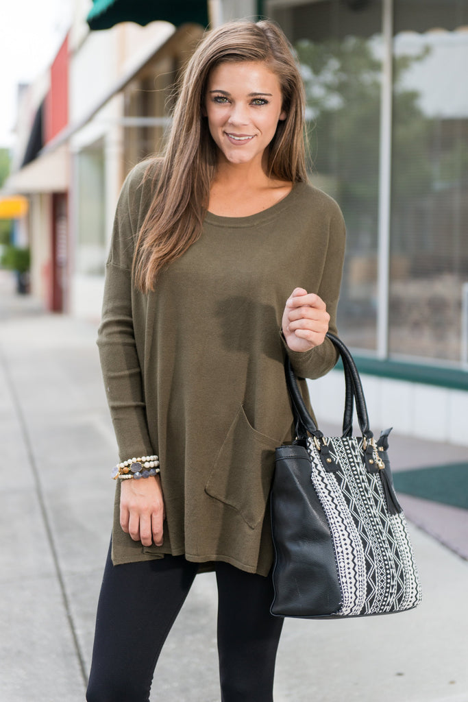 Love Me The Same Tunic, Olive