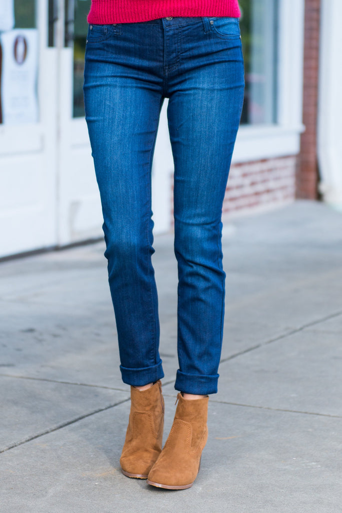 The Celebrity Skinny Jeans, Dark Wash Denim