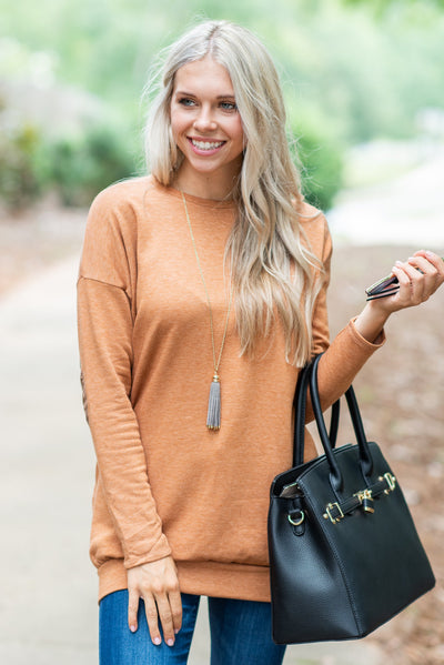 Smart Choice Tunic, Rust