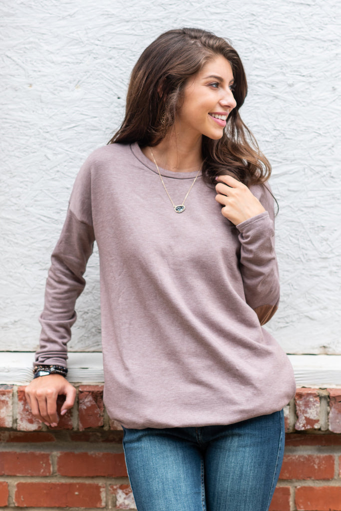 Smart Choice Tunic, Mocha