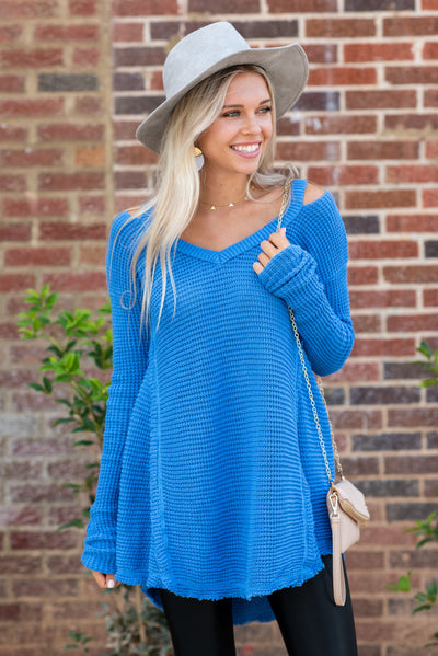 Free To Love Tunic, Blue
