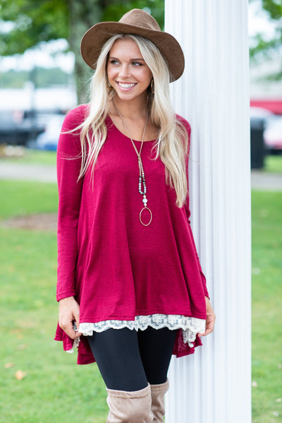 The Weekend Tunic, Wine