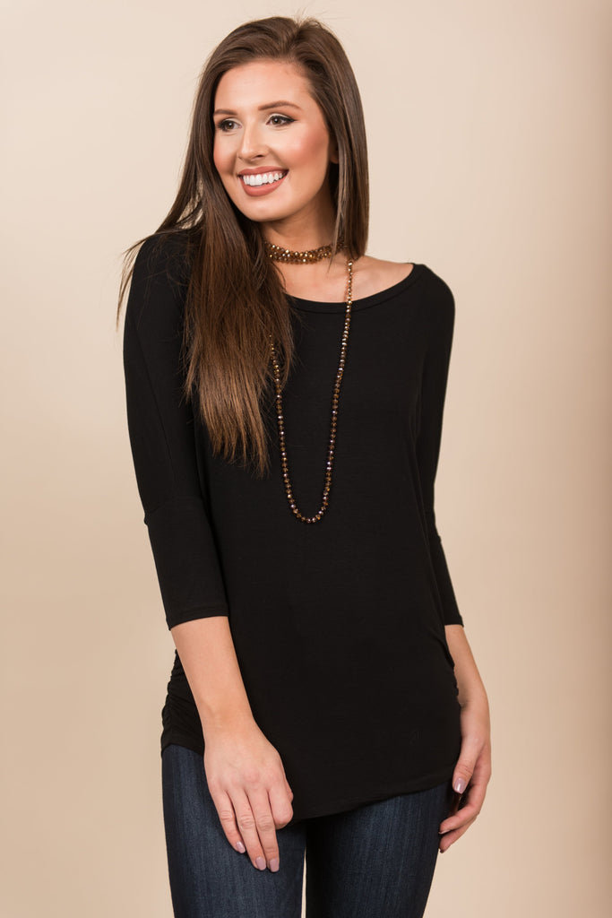 Wishful Thinking Top, Black