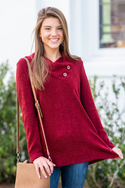 Perfect Example Tunic, Wine