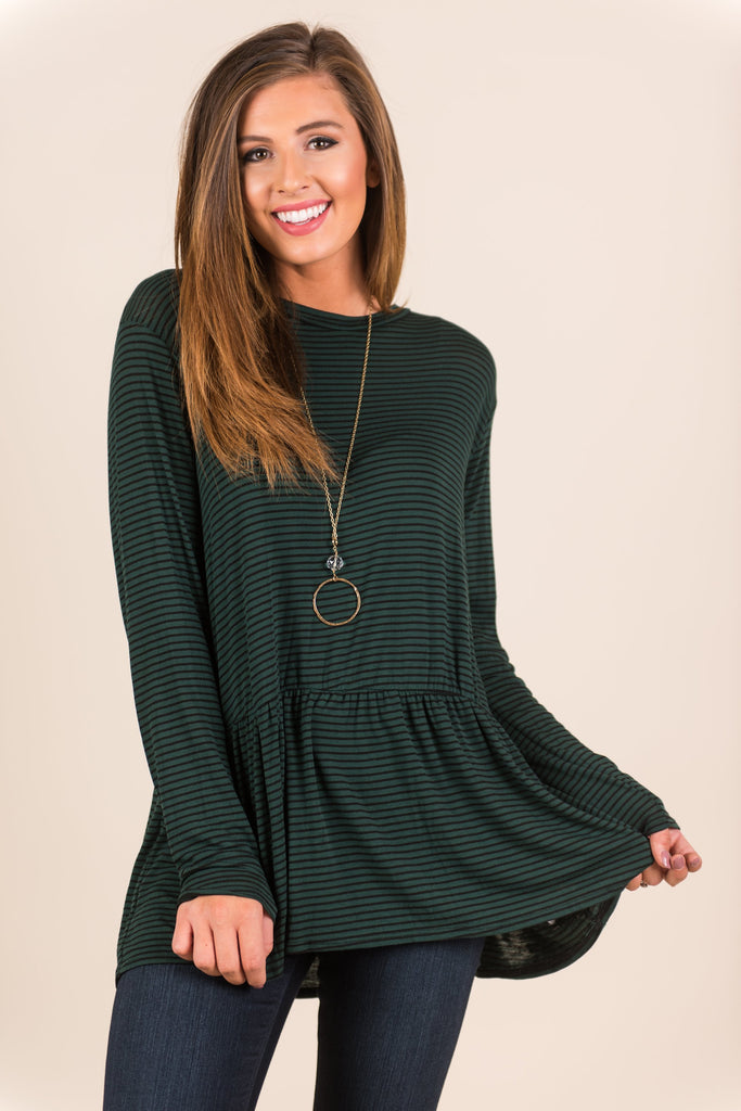 Bright Minds Tunic, Forest Green