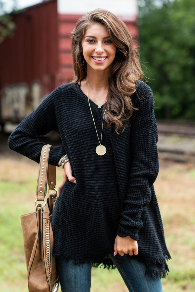 Too Irresistible Sweater, Black