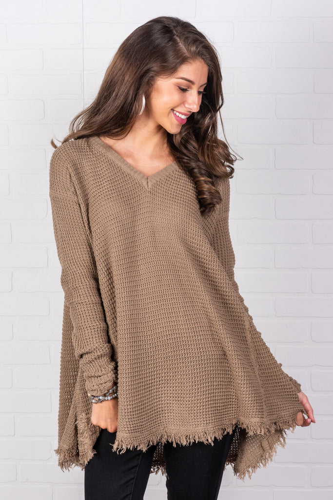 Too Irresistible Sweater, Mocha