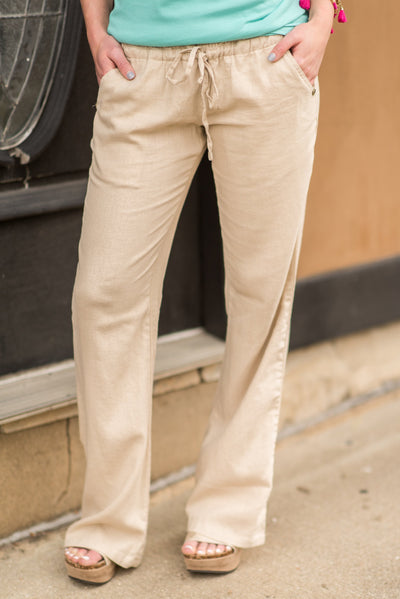 Love And Relaxation Pants, Taupe