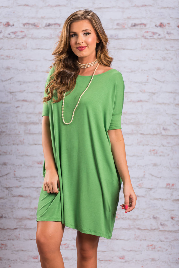 Dare To Dream Dress, Green