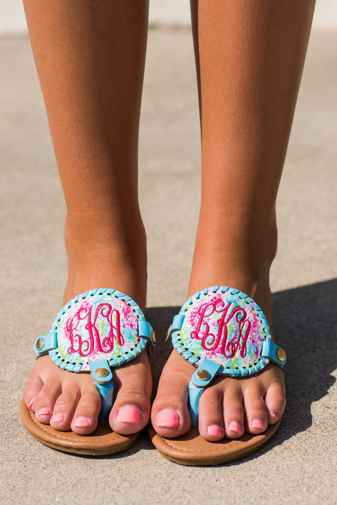 Mix And Always Match Sandals, Sky Blue