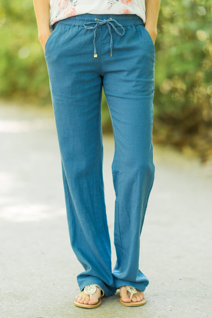 Whatever The Weather Pants, Blue