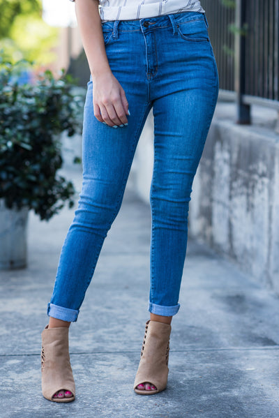 Caught Your Eye Skinny Jeans, Denim