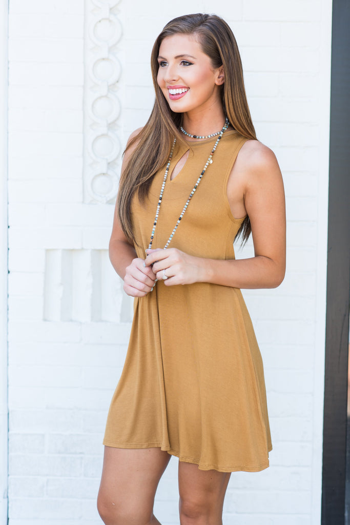 Forever On My Mind Dress, Mustard
