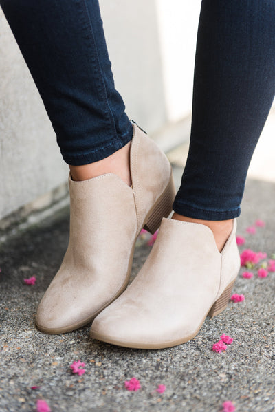 Successful Adventures Booties, Beige