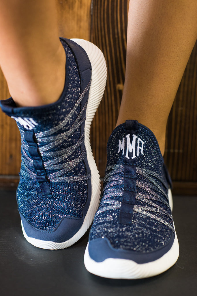 Aim To Be Active Navy Blue Sneakers