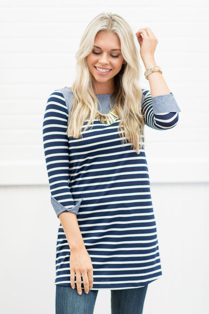Always and Forever Dress, Navy
