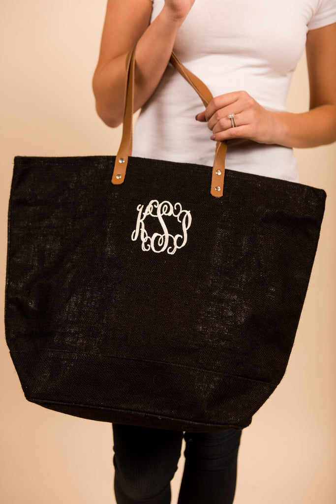 Everything You Need Tote, Black
