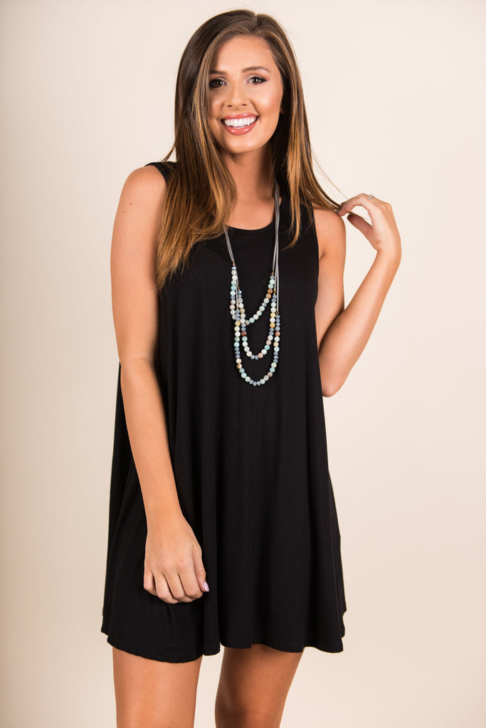 Simple Bliss Dress, Black
