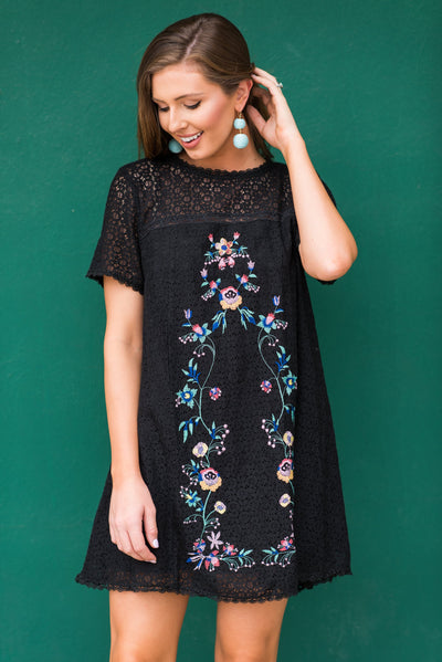 Worth It All Dress, Black