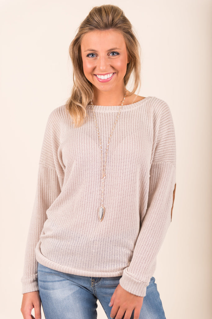 Discovered Fab Top, Taupe