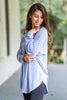 Easy Like Sunday Lavender Purple Tunic