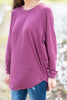 Easy Like Sunday Grape Purple Tunic