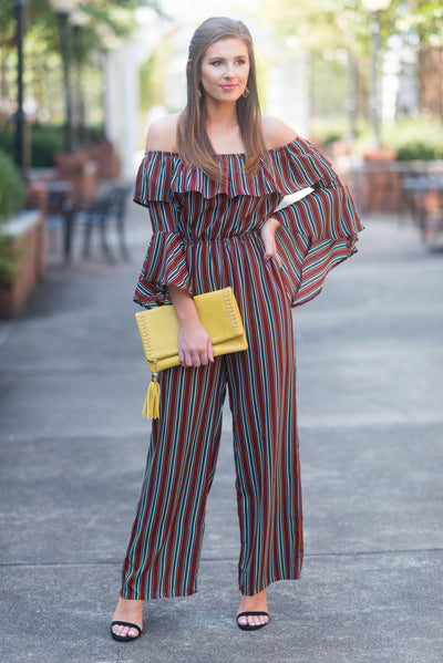 Instant Love Jumpsuit, Brick