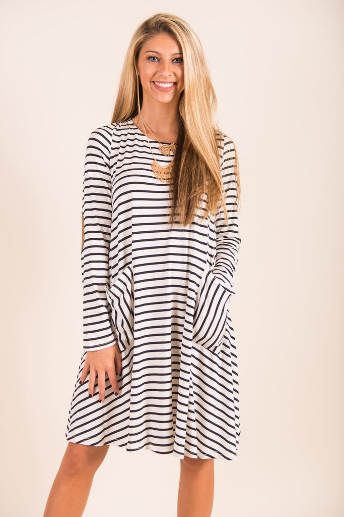 Early Morning Ease Dress, Ivory