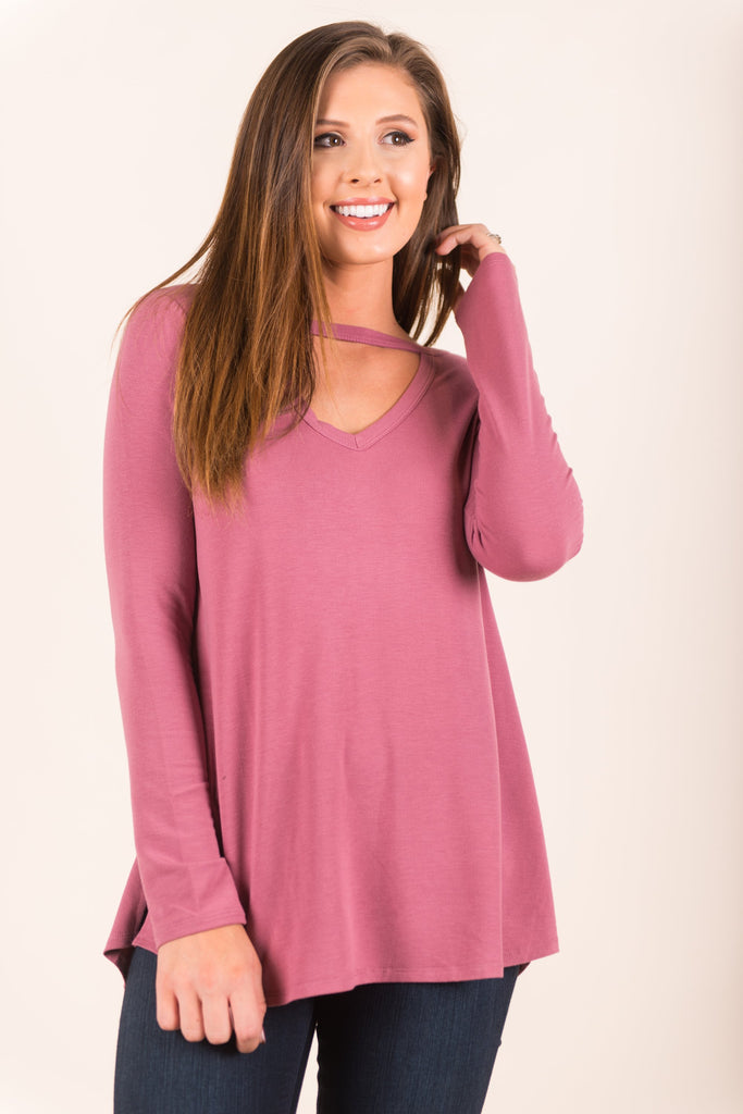 The Marissa Top, Mauve