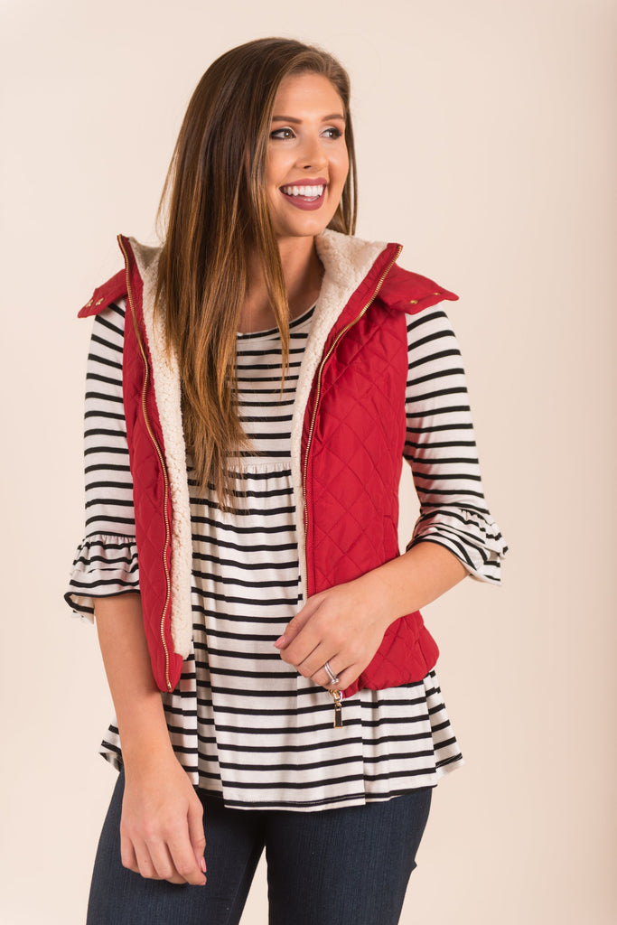 New Heights Vest, Red