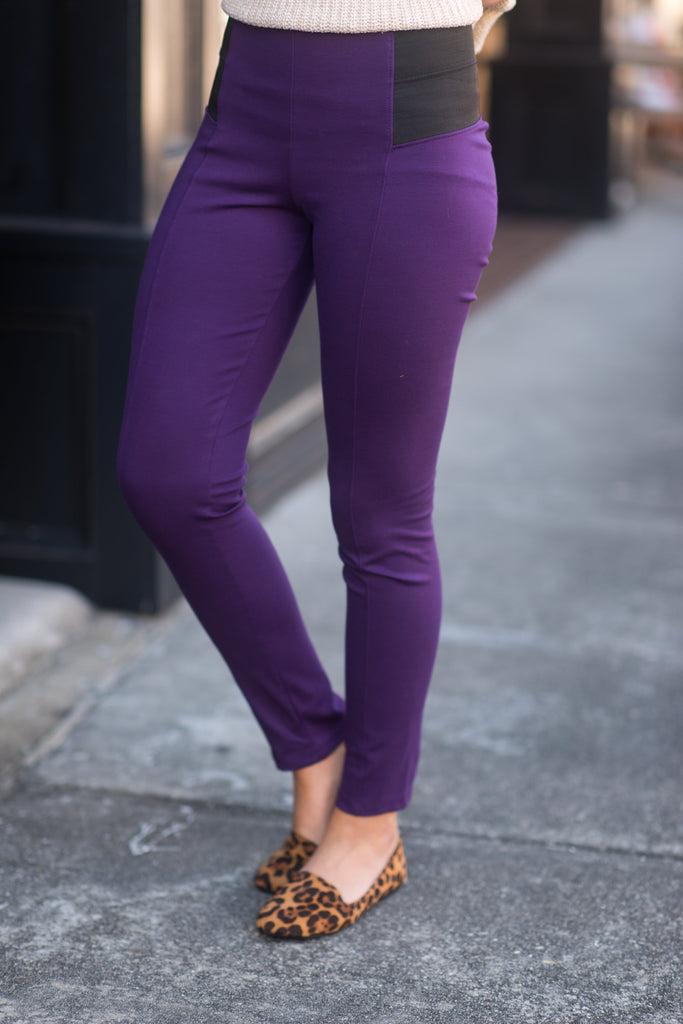 The Katie Pants, Plum