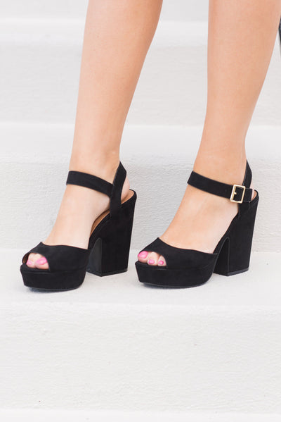 Be Your Best Heels, Black