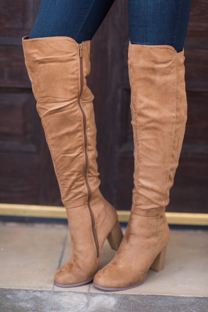 Height Of Fashion Boots, Tan