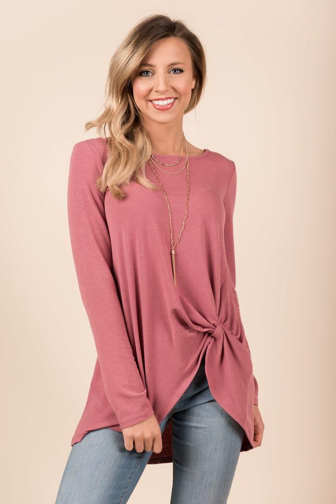 Forever Love Top, Marsala