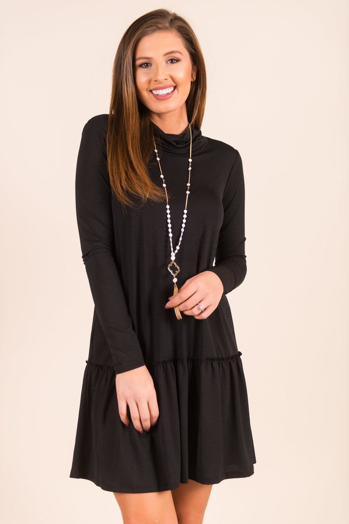It All Works Out Dress, Black