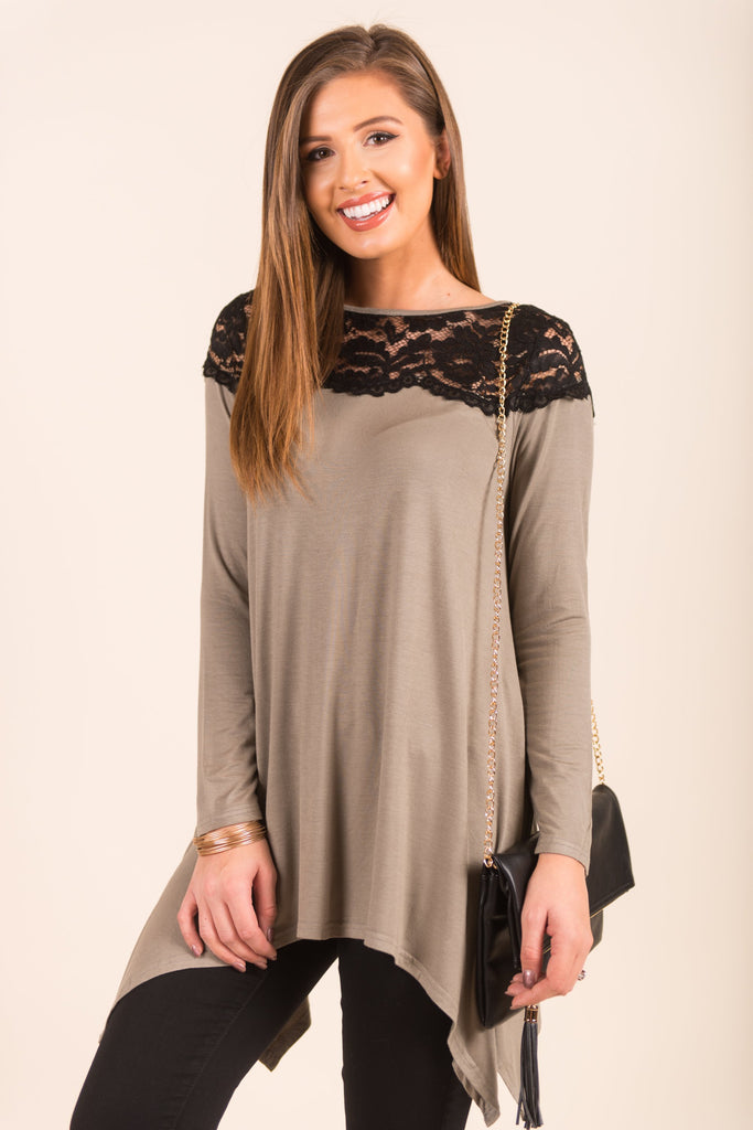 Glimmer Of Hope Top, Olive