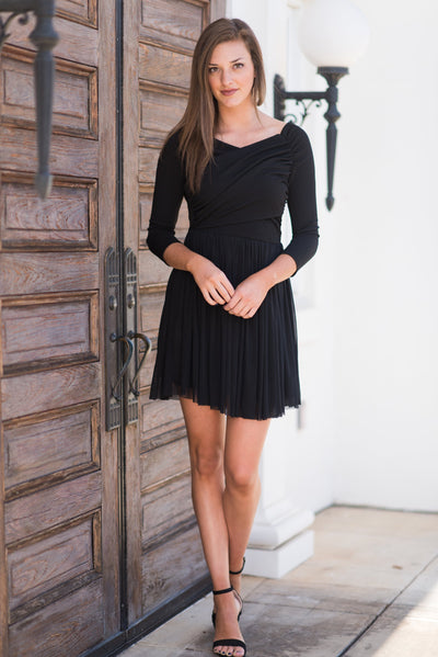Ready To Party Dress, Black