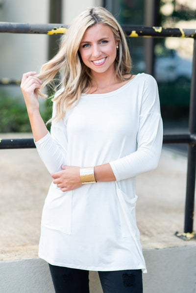 Medley In Love Tunic, Off White