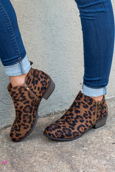 Never Be The Same Booties, Leopard