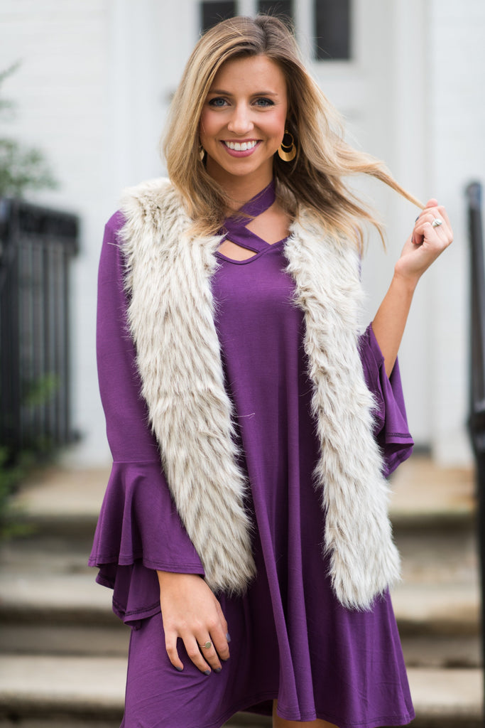 Fabulous Frenzy Vest, Gray