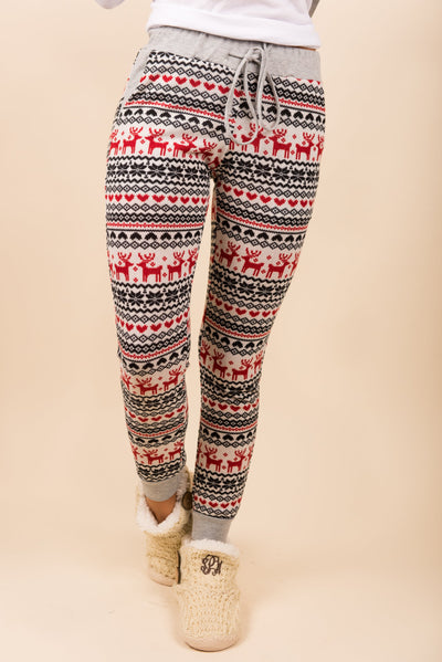 Reindeer Run Pants, Crimson