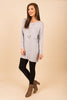 Know You So Well Tunic, Heather Gray