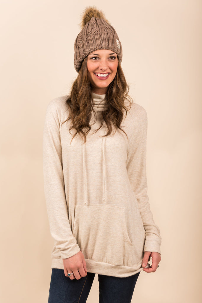 The Run Around Tunic, Cream