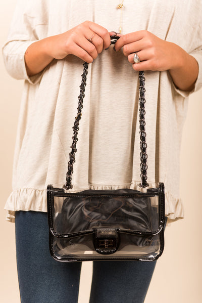 The Coast Is Clear Purse, Black